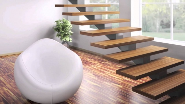 Simple Modern Home Stairs Picture 535