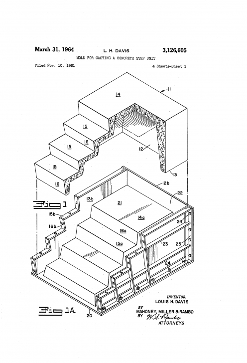 Simple Pan Filled Stairs Image 189
