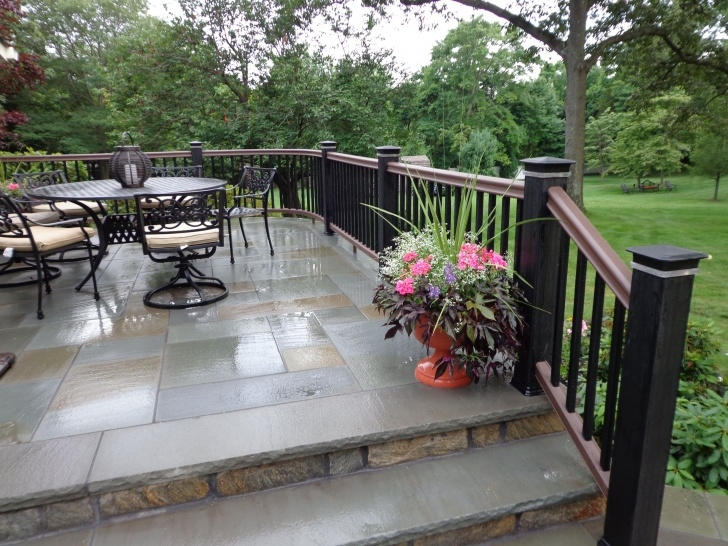Simple Railing For Concrete Patio Picture 011