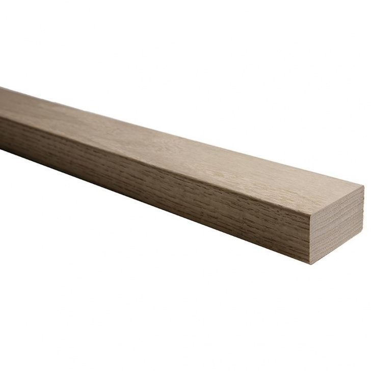Simple Red Oak Handrail Photo 997
