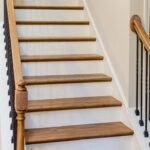 Simple Red Oak Stairs Picture 405