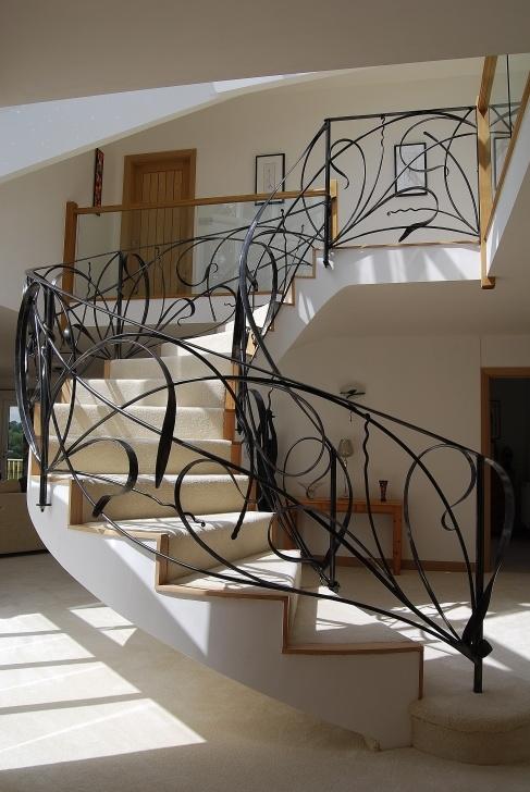 Simple Spiral Railing Design Image 218