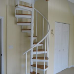 Spiral Staircase To Attic
