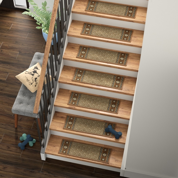 Simple Stair Treads With Rubber Backing Image 369