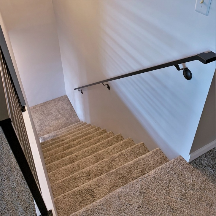 Simple Wall Mounted Handrail For Stairs Image 775