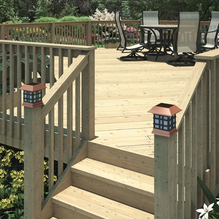 Simple Wood Deck Stairs Photo 414