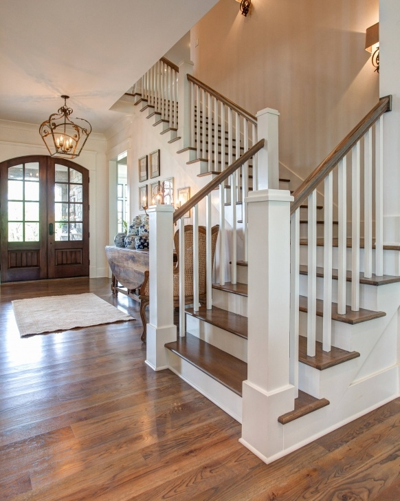 Simple Wooden Stair Railings Indoor Picture 554