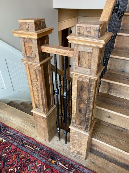 Splendid Antique Stair Railing Picture 792