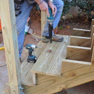 Building Deck Stringers