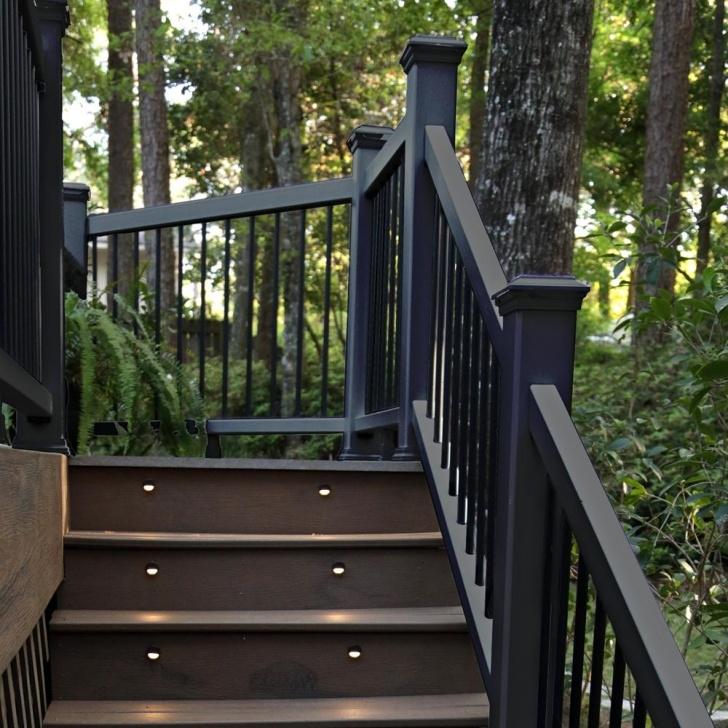 Splendid Composite Stair Railing Picture 506