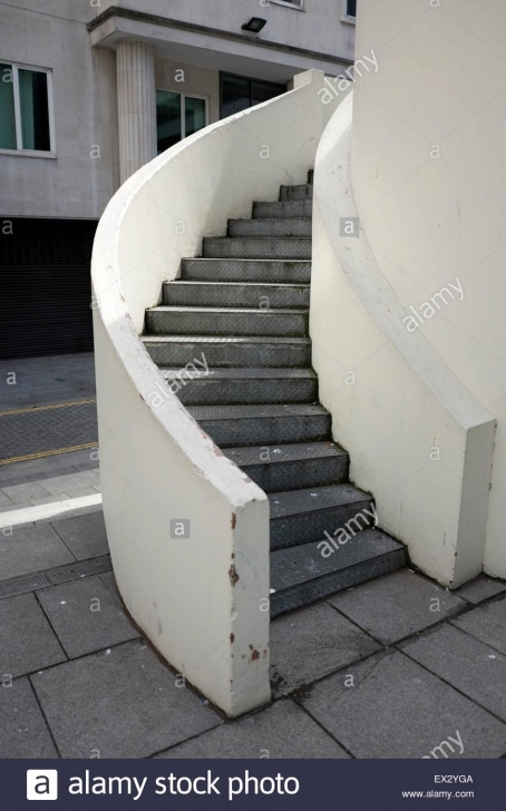Splendid Concrete Curved Stairs Picture 297