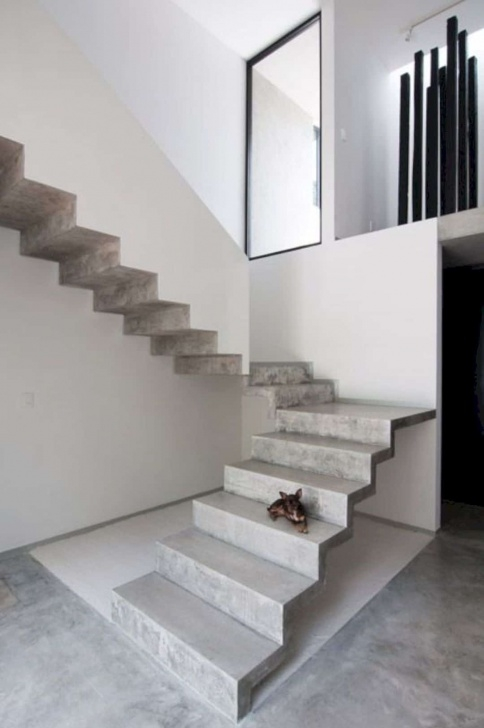 Splendid Concrete Stairs Design Photo 495
