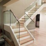 Splendid Glass Stair Panels Image 139