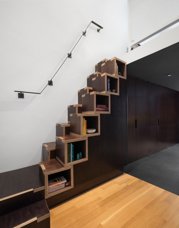 Splendid Loft Stairs For Small Spaces Photo 890