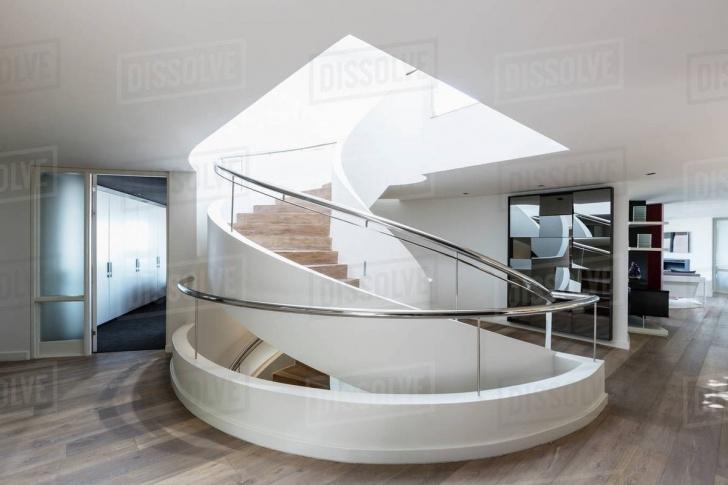 Splendid Modern Spiral Staircase Picture 446