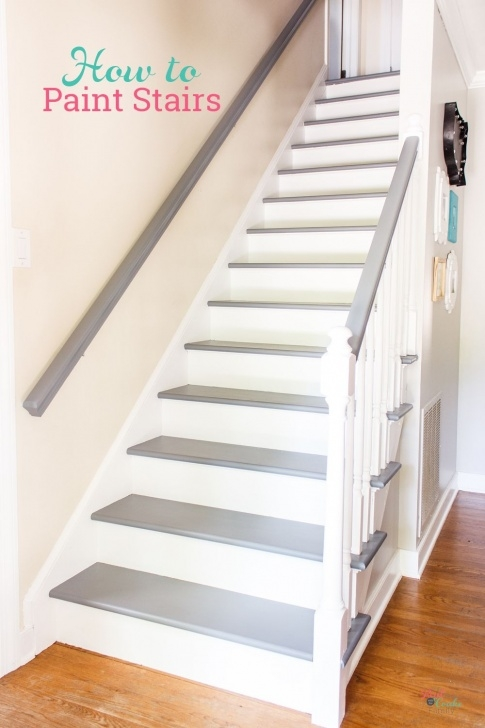 Splendid Sanding Painted Stairs Picture 417