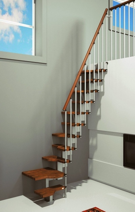 Splendid Spiral Staircase To Attic Photo 680