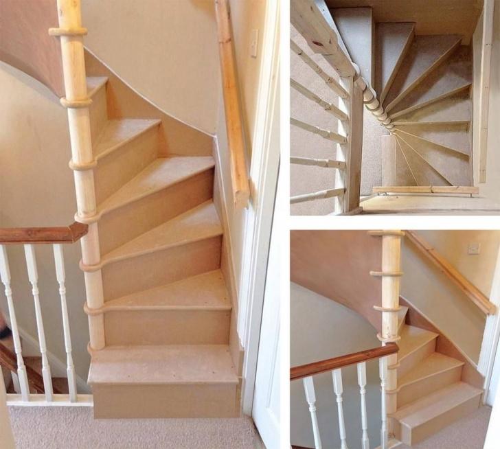 Splendid Square Spiral Staircase Image 476