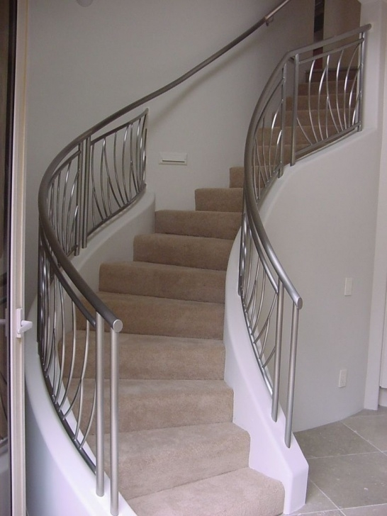 Splendid Steel Design For Stairs Photo 989