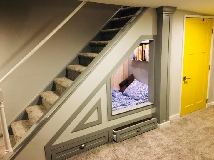 Stunning Basement Stairs Under Main Stairs Image 704