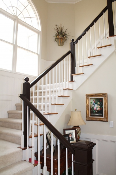 Stunning Black Stair Handrail Photo 390