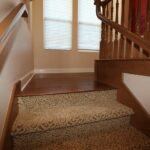 Stunning Carpeted Stairs With Wood Floors Picture 324