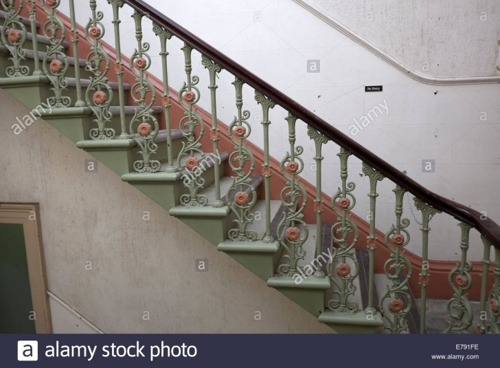 Stunning Cast Iron Staircase Image 565