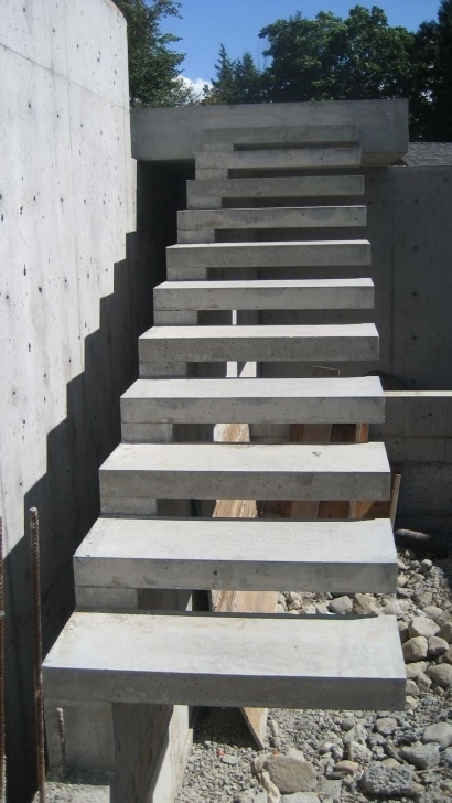 Stunning Concrete Exterior Stairs Picture 118