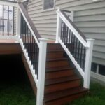 Stunning Deck Steps Railing Image 571