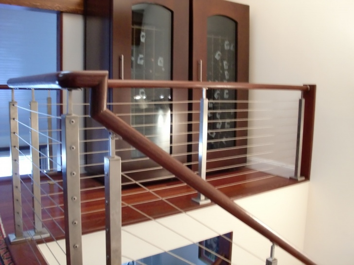 Stunning Diy Interior Cable Railing Image 095