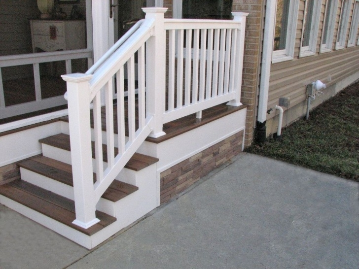 Stunning Fiberon Stair Railing Photo 370