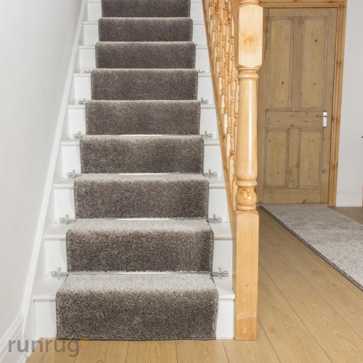 Stunning Gray Carpet On Stairs Picture 454