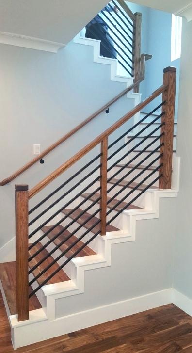 Stunning Horizontal Stair Railing Image 986