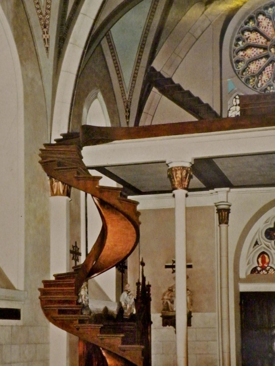 Stunning Loretto Chapel Staircase Wood Image 271