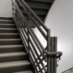 Stunning Metal Pan Concrete Stairs Photo 637