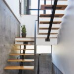 Stunning Metal Staircase Design Picture 772