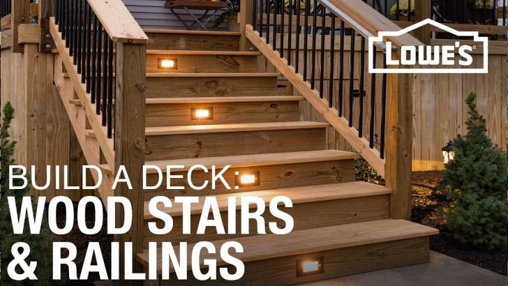 Stunning Outdoor Wooden Handrail Image 888