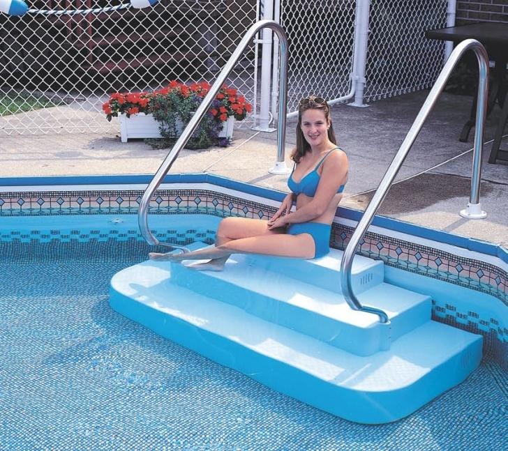 Stunning Pool Step Rails Image 343