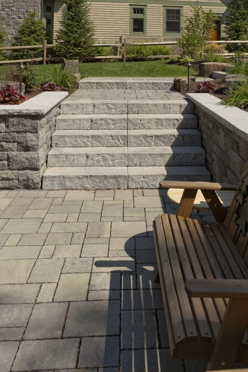Stunning Stone Steps Design Picture 095