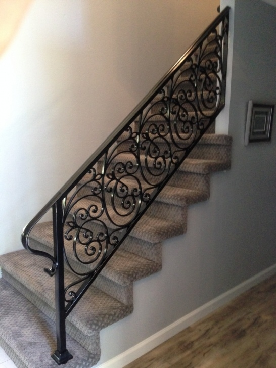 Stunning Wrought Iron Staircase Image 494