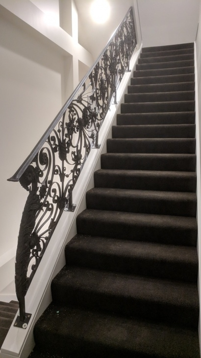 Stunning Wrought Iron Staircase Picture 392
