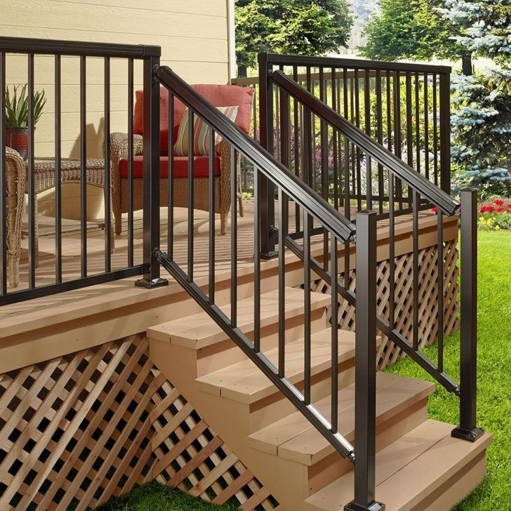 Stylish Aluminum Stair Railing Picture 722