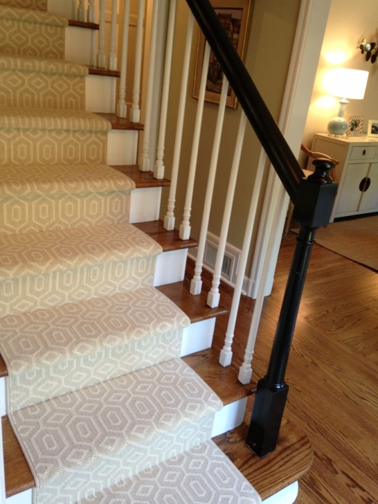 Stylish Carpet For Wooden Stairs Image 059
