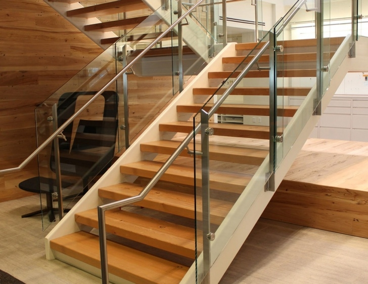 Stylish Commercial Handrails And Railings Photo 072