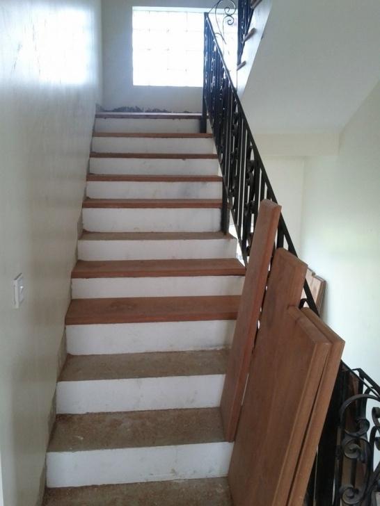 Stylish Concrete Stairs Design Indoor Photo 921