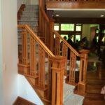 Stylish Craftsman Style Stair Railing Image 821