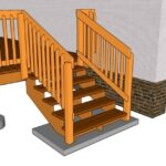 Stylish Deck Stair Railing Picture 801