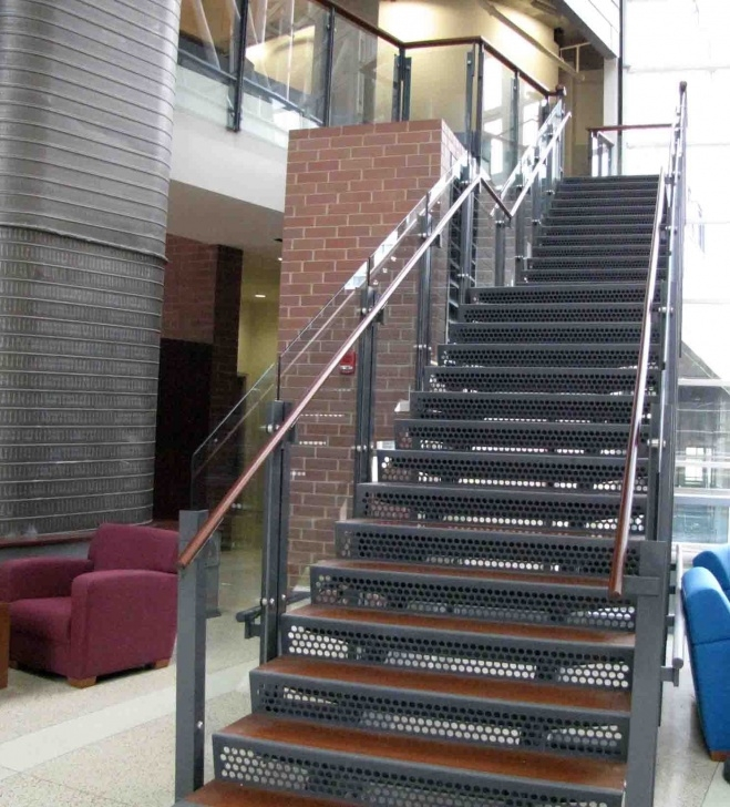 Stylish Exterior Steel Stairs Picture 455