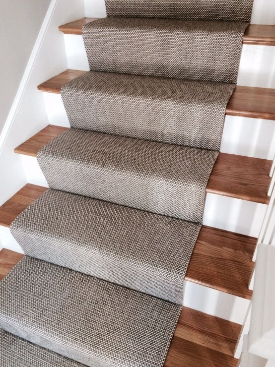 Stylish Flat Weave Carpet Stair Runners Photo 891