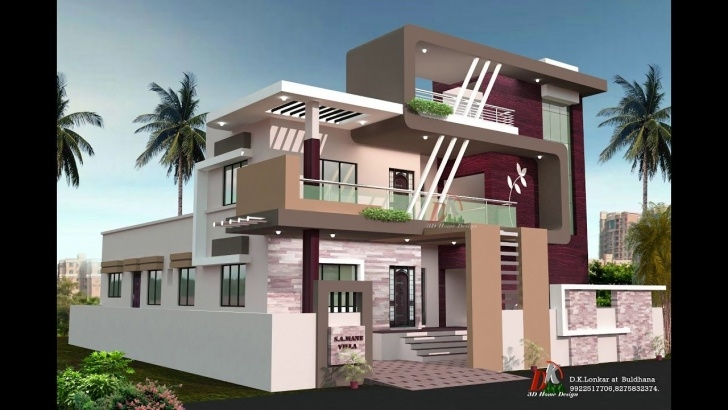 Stylish Front Staircase House Design Image 885